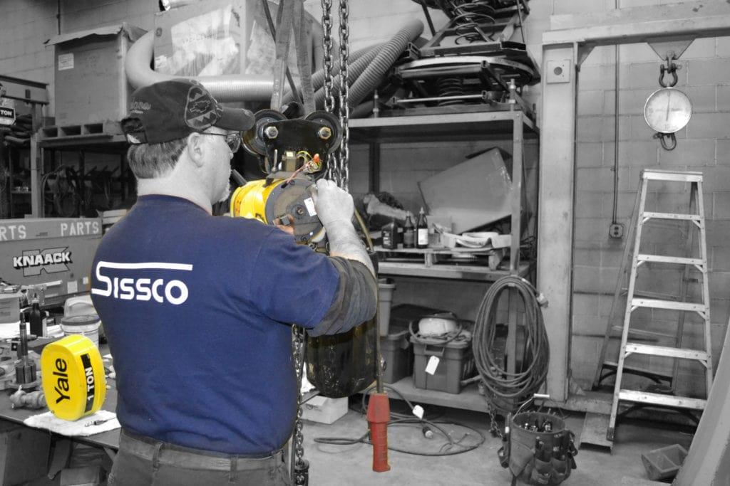 material handling solutions, Material Handling Solutions, SISSCO Hoist